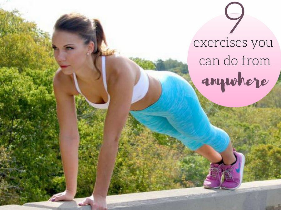 Featured on Hippie In Heels Blog: 9 Exercises You Can Do From Anywhere