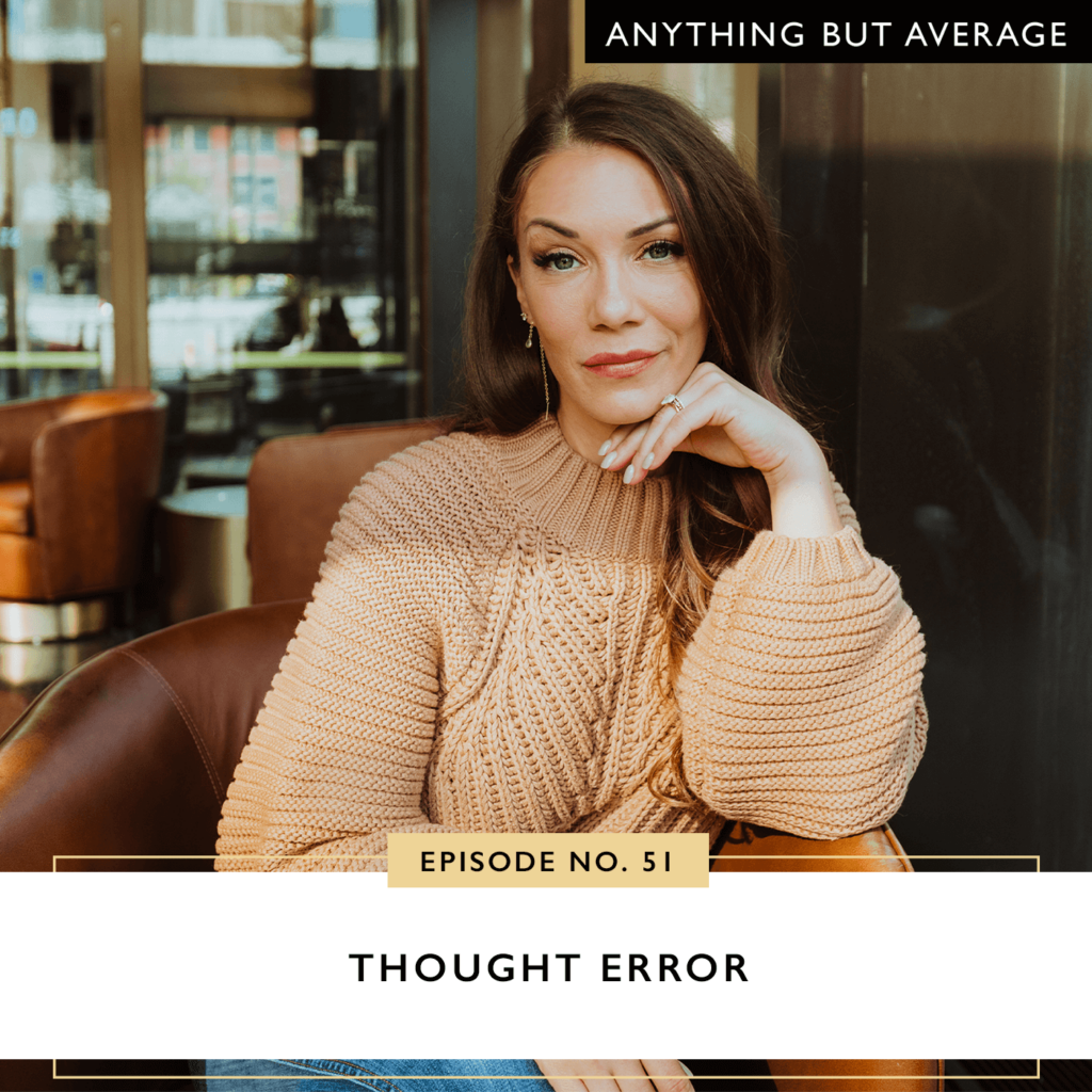 Anything but Average with Lindsey Mango | Thought Error